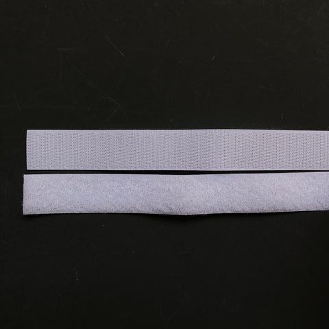 White Sew On Velcro