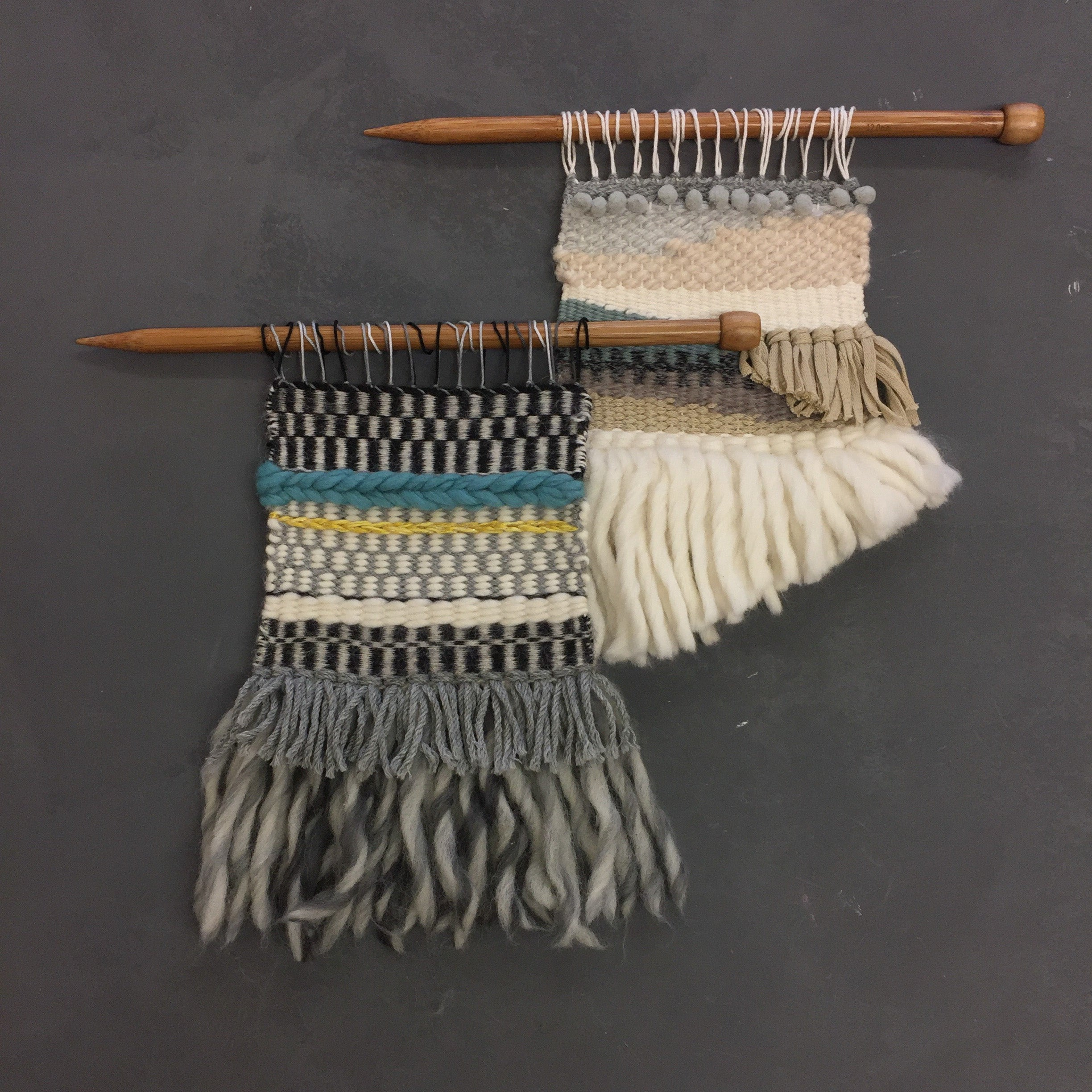 Weaving a Wall Hanging