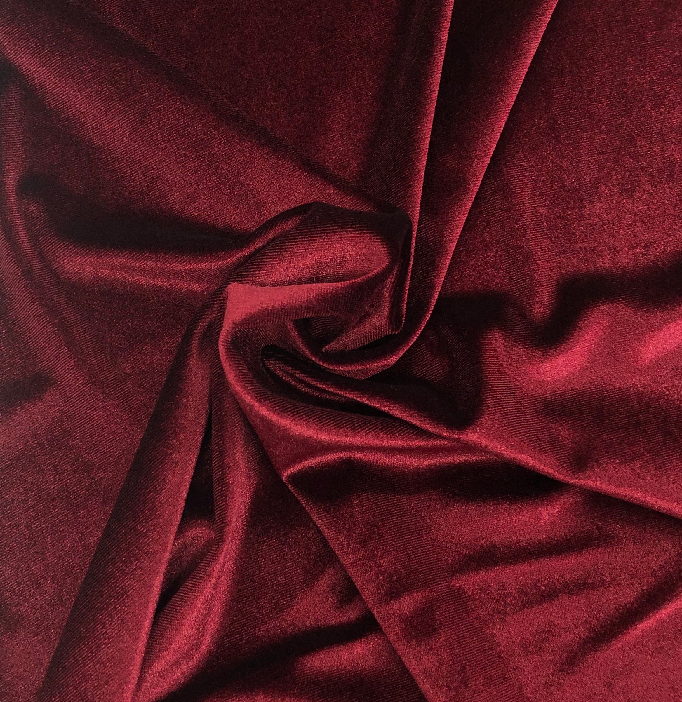 Stretch Velour Wine