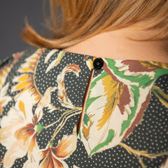 Back of the Iris top sewing pattern