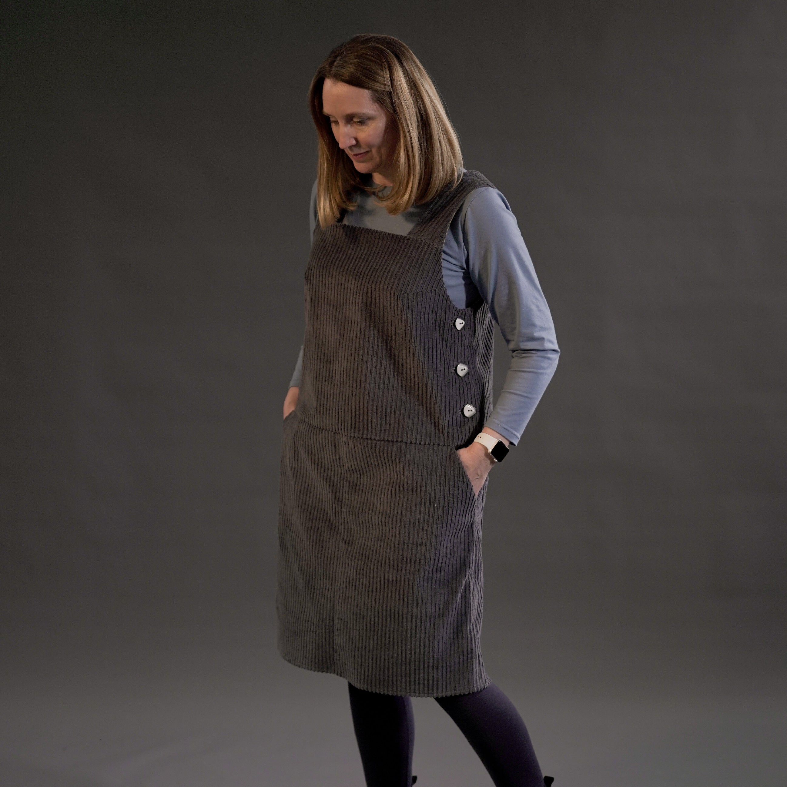 Perdita Pinafore Dress