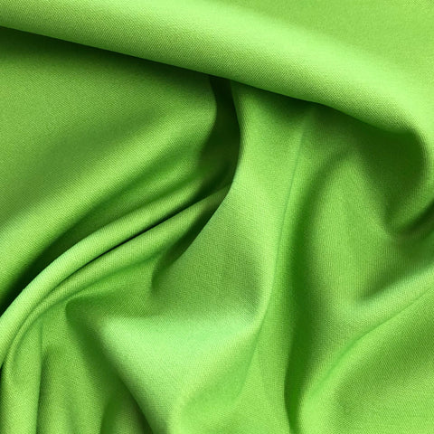 Apple Green Cotton Stretch
