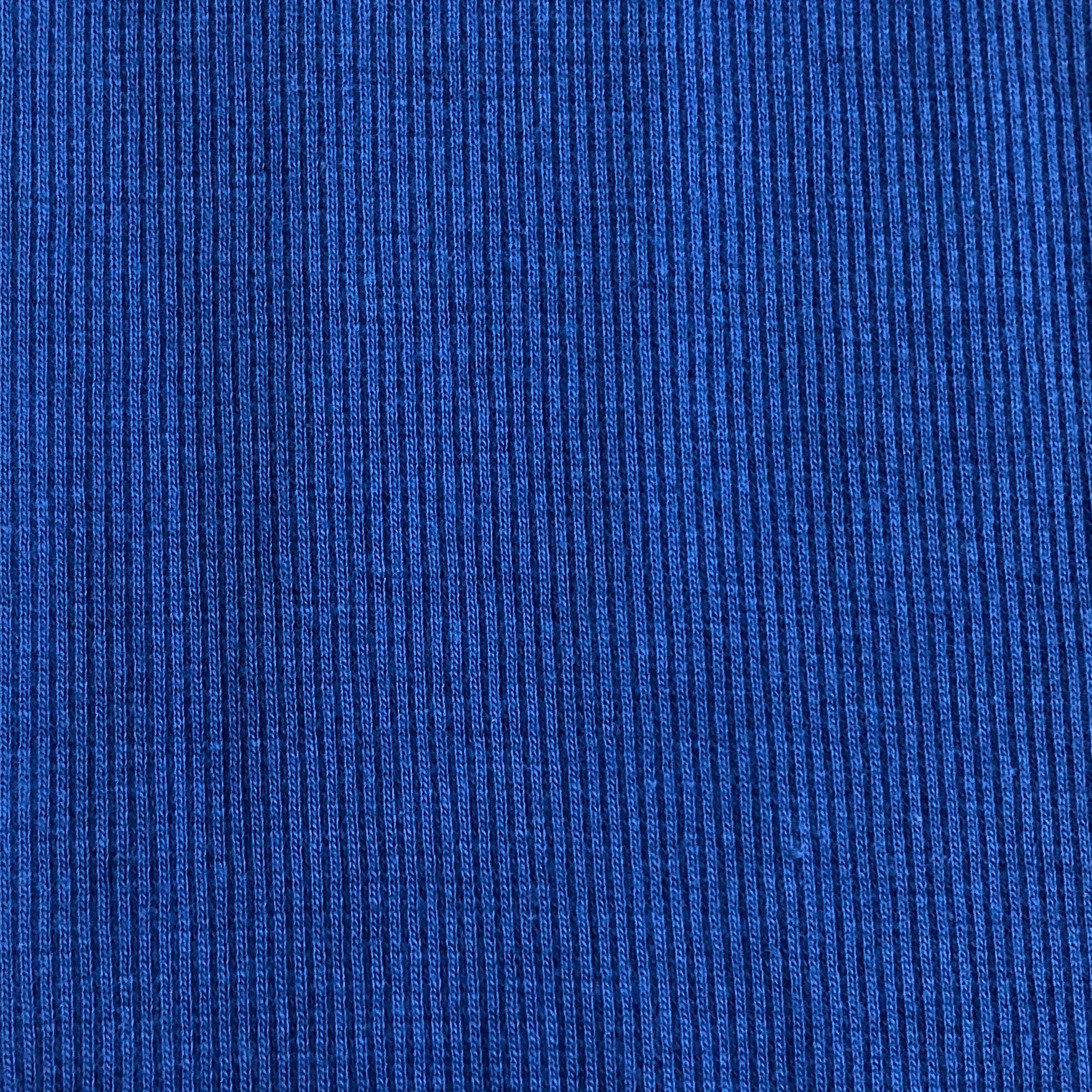 Cotton Ribbing Blue