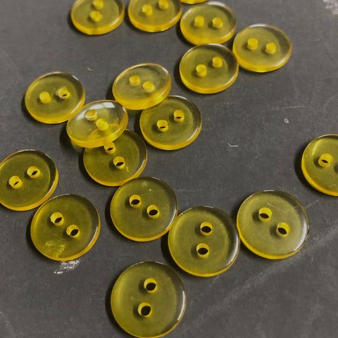Yellow Clear Buttons