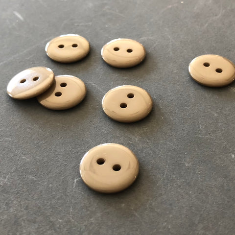 Pale Brown Buttons
