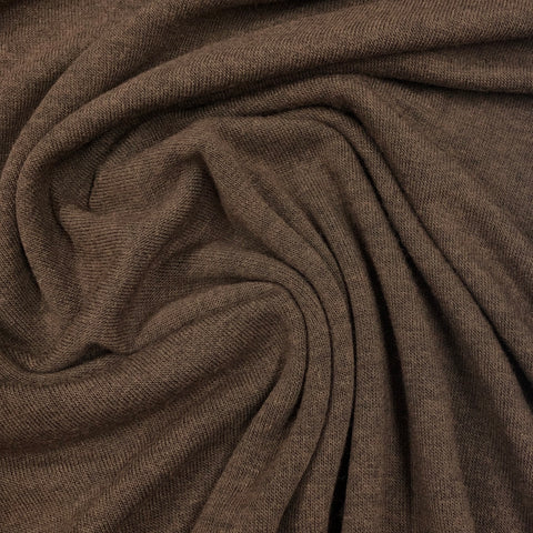 Chocolate Super Soft Knit Jersey