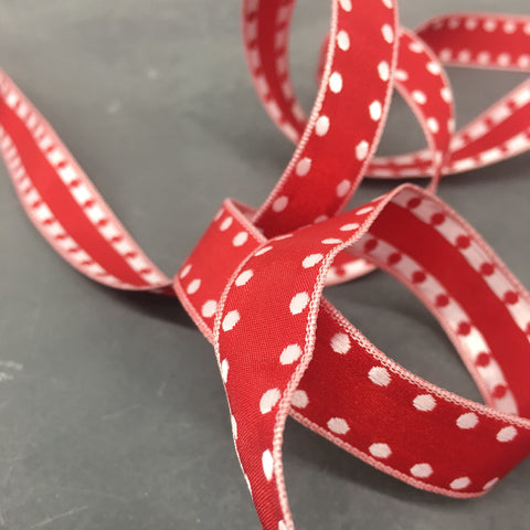 Dot Edged Ribbon