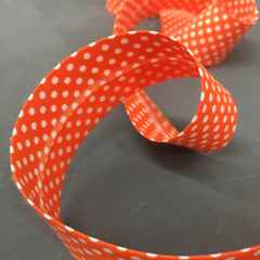 Polka Dot Bias Binding 30mm