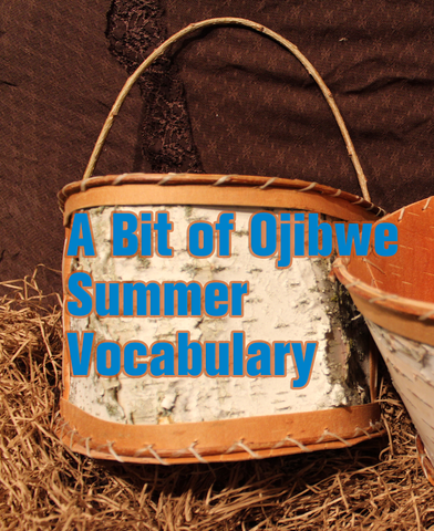 A Bit of Ojibwe Summer Vocabulary