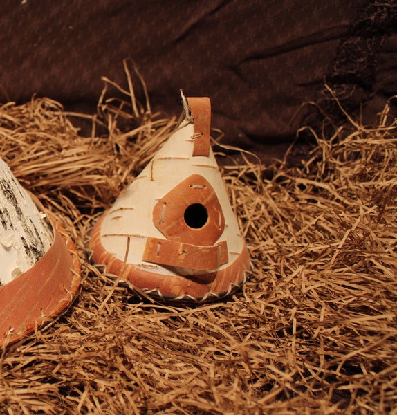 Birch Bark Bird Houses