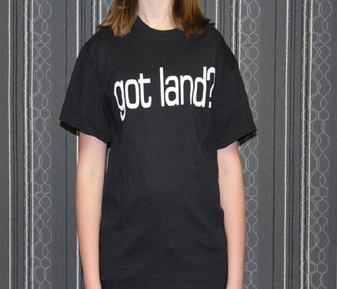 Got Land Tee-Black
