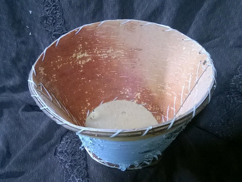Birch Bark Moose Bowl