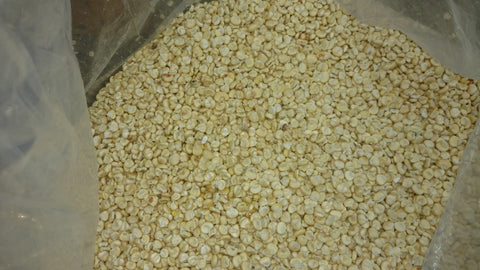 Image result for dried white corn
