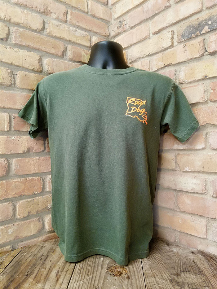 Short Sleeve Logo Shirt -- Olive