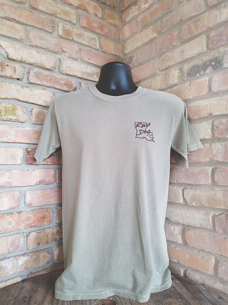 Short Sleeve Duck Box Shirt -- Tan
