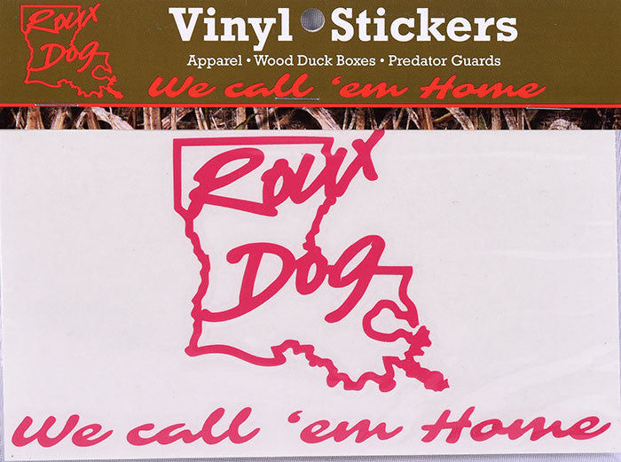 "Roux Dog 6"" Decal"