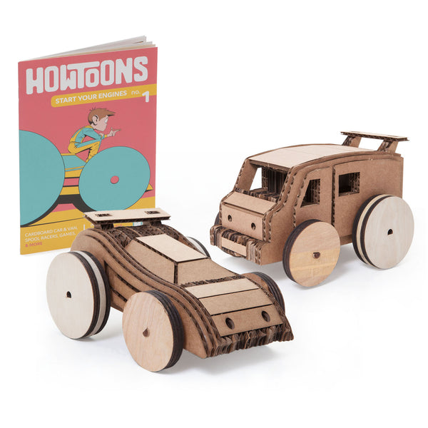 Rubber Band Car Kit