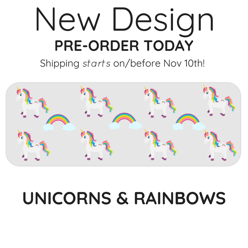 The Splash Baby - Unicorn & Rainbows (Limited Edition)