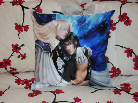 Ai no Kusabi, Iason Mink x Riki Art Throw Pillow Case/Cover