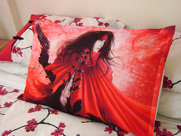 FF7, Vincent Valentine, * Art*  Bed Pillow Case/Cover