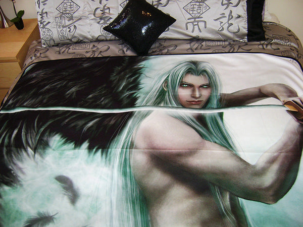 FF7, Crisis Core : Sephiroth Art Blanket (large)