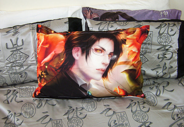 Kuroshitsuji: Claude Faustus * Art* Bed Pillow Case