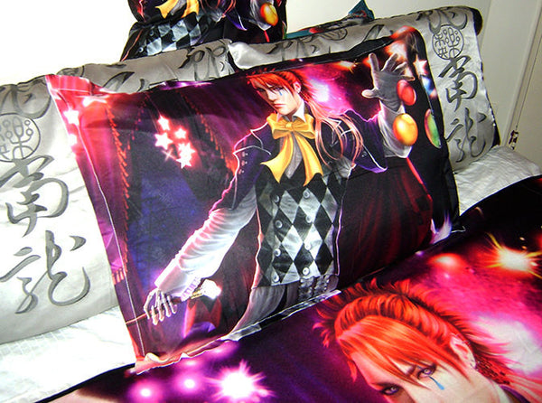 Kuroshitsuji: Book of Circus *Joker* Art* Bed Pillow Case