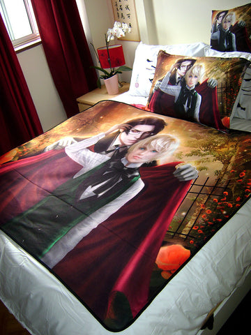 Kuroshitsuji: Alois Trancy and Claude Faustus Art Blanket