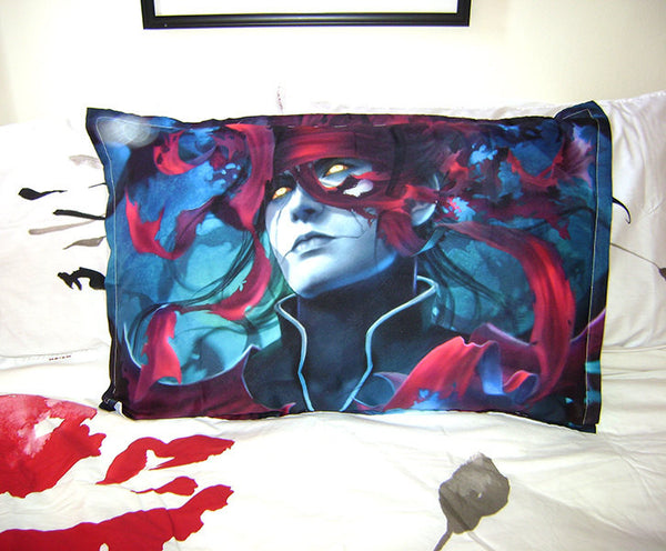 FF7, Vincent Valentine, CHAOS  * Art*  Bed Pillow Case/Cover