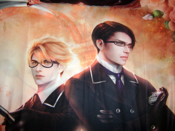 Kuroshitsuji: Ronald Knox and WIlliam T. Spears Art Blanket
