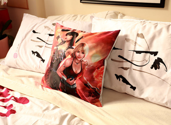 Xena Warrior Princess Art Throw Pillow Case/Cover