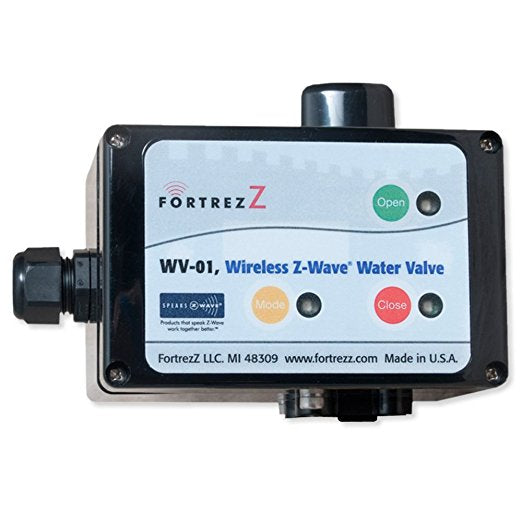 FortrezZ Indoor Water Valve - Actuator Only (ball valve & sensors sold separately)