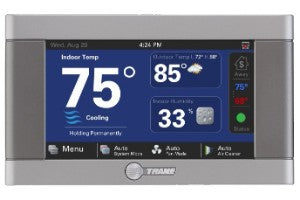 Trane XL824 Wi-Fi Color Touchscreen Thermostat_