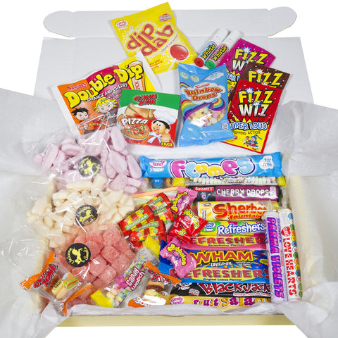 Old School Sweet Hamper - Super Large