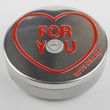 Swizzels Mini Love Hearts in an Embossed Limited Edition Tin - 100g