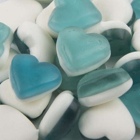 Haribo Blue Heart Throbs 180g