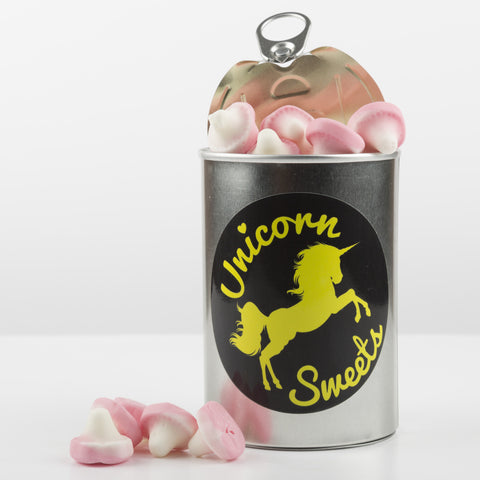 Sweet Filled Tin Can Containing Mushrooms