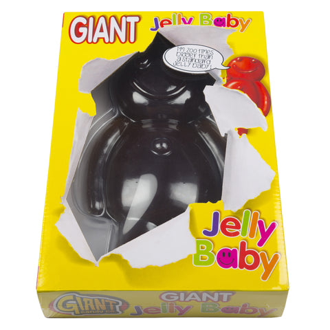 Giant 800g Black Jelly Baby