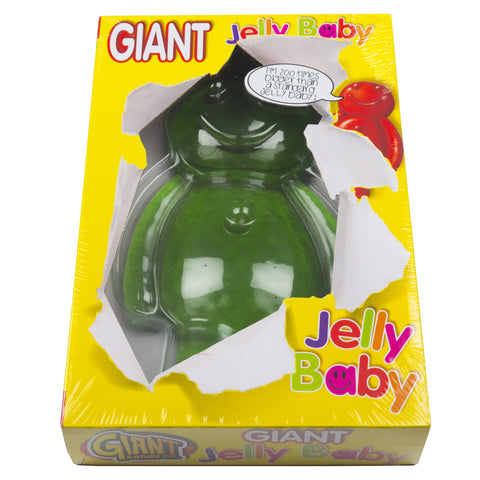 Giant 800g Green Jelly Baby