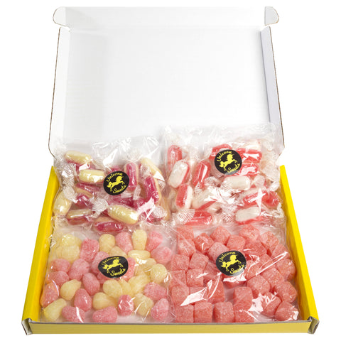 Hard Stuff - Hard Boiled Vegetarian Sweet Hamper - Large