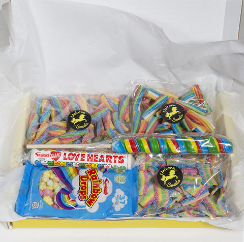 Unicorns and Rainbows Sweet Hamper - Large