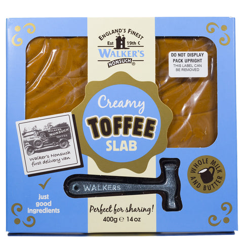 Creamy Toffee Slab with Hammer 400g
