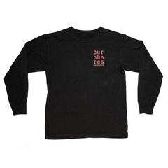 Black and Red Long Sleeve