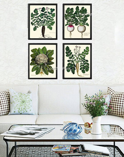 Fruits & Vegetables Print Sets