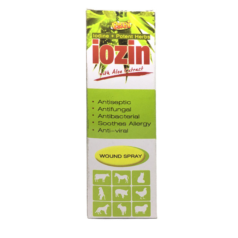 Papi Iozin Wound Spray