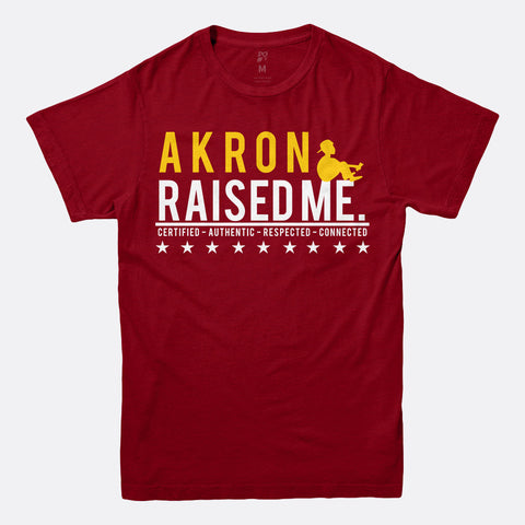 Akron Raised Me Tee