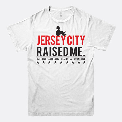 Jersey City Raised Me Tee