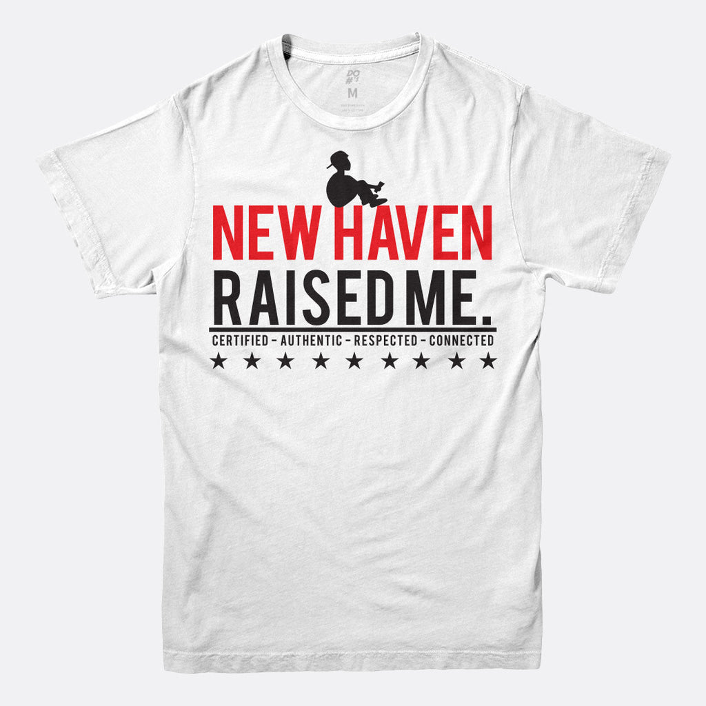 New Haven Raised Me Tee