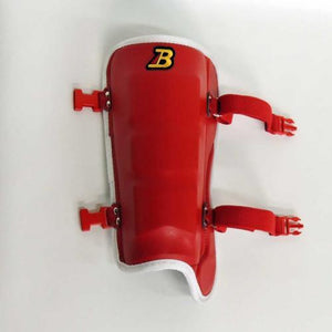 Red Professional Shin Guard FG640