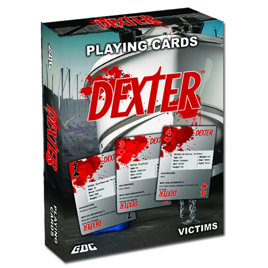 DEXTER PLAYING CARDS, VICTIMS DECK